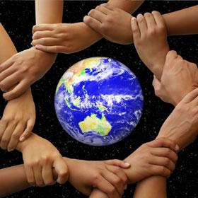Helping Hand Save Earth