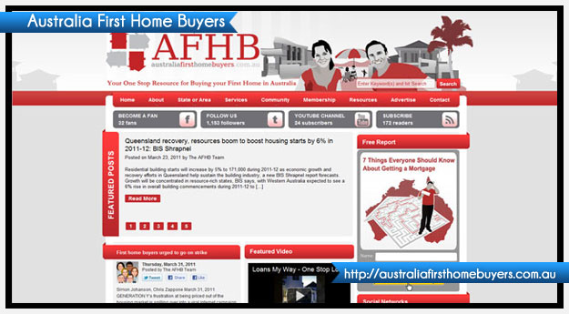 Australia First Home Buyers