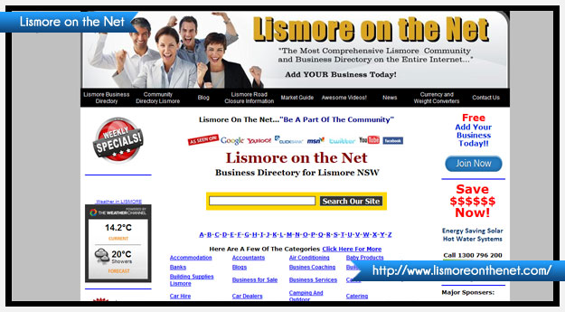 Lismore on the Net