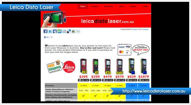 Leica Disto Laser