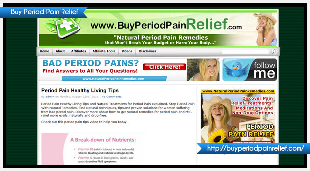 Buy Period Pain Relief