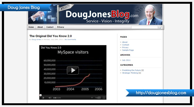 Doug Jones Blog