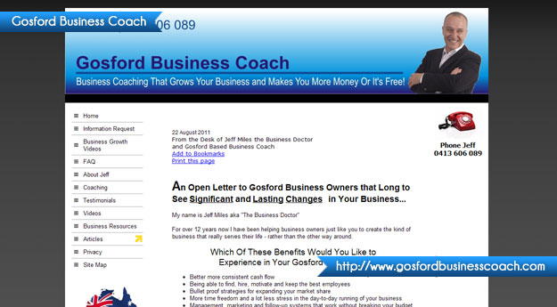 Gosford Business Coach