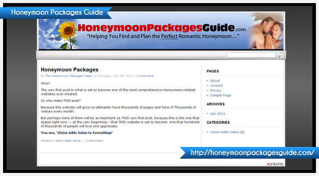 Honeymoon Packages Guide