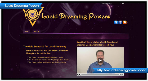 Lucid Dreaming Powers