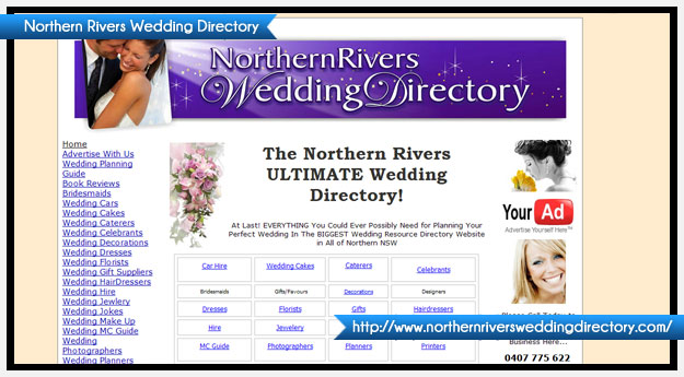 Northern Rivers Wedding Directory