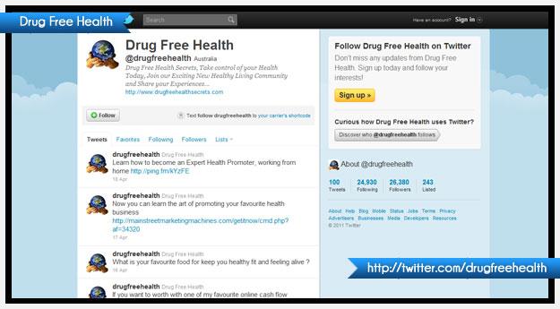 Drug Free Health