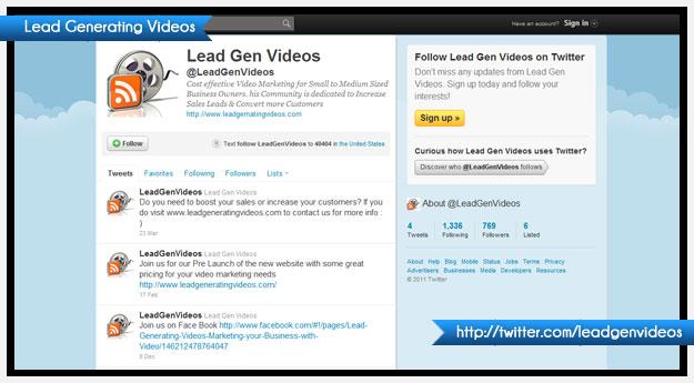 Lead Generating Videos