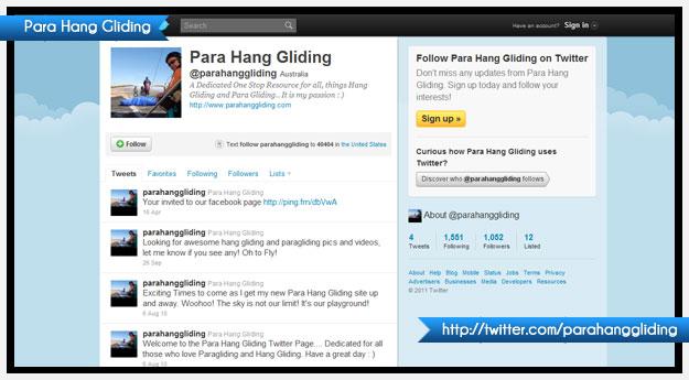Para Hang Gliding