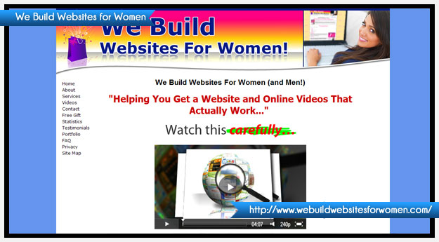We Build Websites for Women