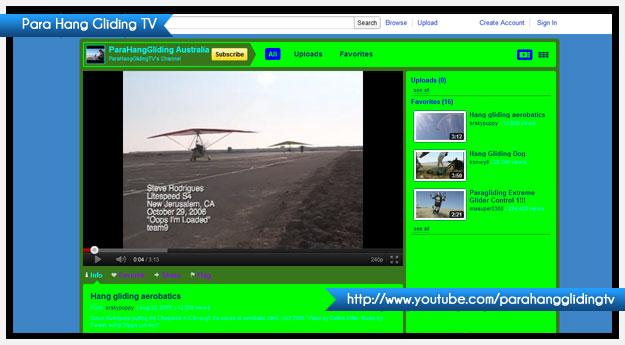 Para Hang Gliding TV