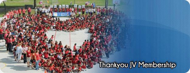 Thankyou JV Membership