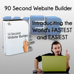 90 Second Website Builder