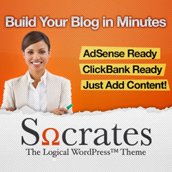 Socrates Theme WordPress Blog Monetization